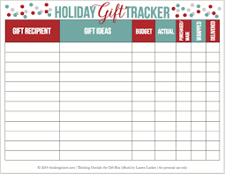 Gift Tracker Thinking Outside The Gift Box 75 Simple Meaningful Gift Ideas