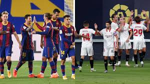 Ronald koeman's team dominated the chances but found it hard to break down the opposing. Barcelona Vs Sevilla Live Streaming La Liga In India Watch Barca Vs Sev Live Football Match Online On Facebook Watch Football News India Tv