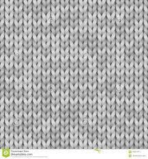 Witte En Grijze Realistisch Breit Textuur Naadloos Patroon Vector