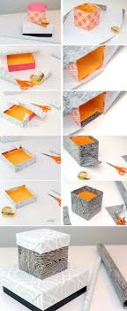 How To Make Decorative Gift Boxes At Home HOME DZINE Craft Ideas How to cover up a plain box 2