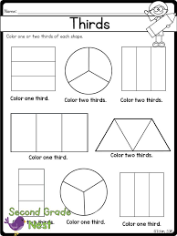 Fractions Printables | Worksheets, Math and Math fractions