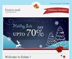 20 Wonderful Christmas New Year Email Templates Bashooka