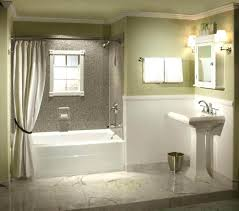 Cost Bathroom Remodel Awesome Decorating Design