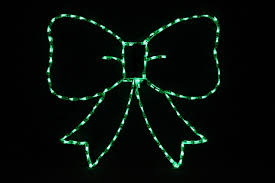 Light Up Christmas Bows Sweet Bow Green