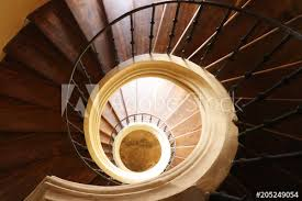spiral staircase in church of the assumption of our lady and saint john the baptist