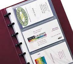Business Card Holder Junior Binder Builder Collection C Line