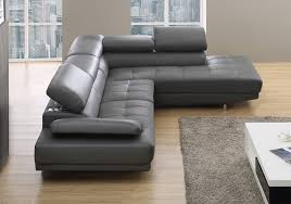 attractive corner leather sofa with milano stylist modern grey with corner leather sofa regarding your own grey l47
