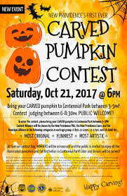 pumpkin carving contest flyer new providence first ever carved pumpkin contest new providence nj