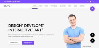 brilliant wordpress themes for resume plus cv web net sility resume 44