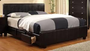 Burlington Espresso Cal King Storage Bed From Furniture Of - Burlington bedroom furniture
