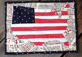 Quilt Inspiration: Free pattern day: Patriotic and flag quilts & American Flag Wall Hanging tutorial at Jill Made It Adamdwight.com