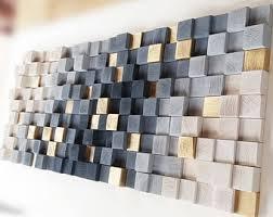 3 dimensional wood wall art