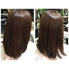夏に向けて髪の量が多くてお悩みのお客様をカットした ウェーブ