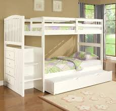bunk bed with trundle elegant white twin bunk beds over bed with regarding trundle designs 4 bunk bed with trundle