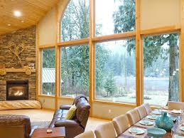 property image 2 waterfront lodge near mt baker ski area hot tub fireplace