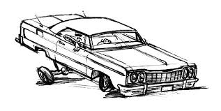 Small Picture Extreme Changes Hydraulics Lowrider Cars Coloring Pages Download