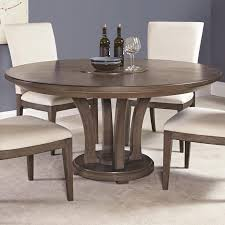 contemporary 62 inch round dining table with trestle base by american drew tribecca coffee 70