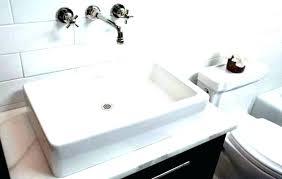 wall mount faucet. Diy Vanity Top Tops For Vessel Sink Wall Mount Faucet Bathroom Mounted Marble Tile