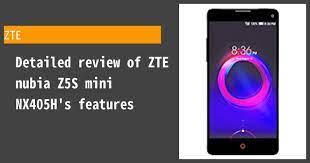ZTE nubia Z5S mini NX405H Review ...