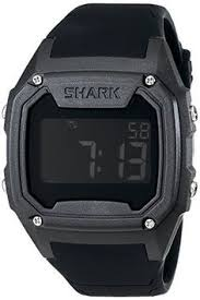 • the world s catalogue of ideas style men s 101055 killer shark plastic watch