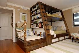 Unique King Size Loft Bed with Stairs Arrange King Size Loft Bed
