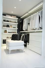lighting for closet. black u0026 white closet with shelves led lights rails and dresser adalminau0027s lighting for