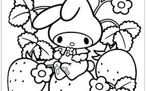 Kawaii Food Coloring Pages Motorscooterwallpaperga