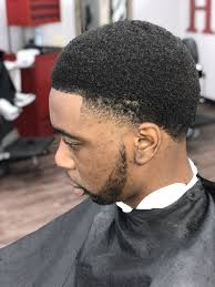 Cut Hair Black Man