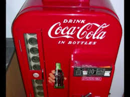 Antique Vending Machines Beauteous Vintage Coca Cola Vending MachineVendo 48 YouTube