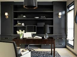 office black. Unique Black Black Built In Cabinets Throughout Office