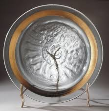 charger plates decorative:  sticks stones stand decorative plate holder