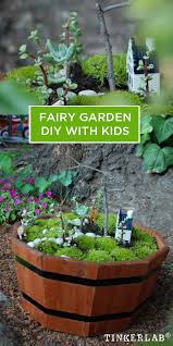 so easy and magical fairy garden diy with kids