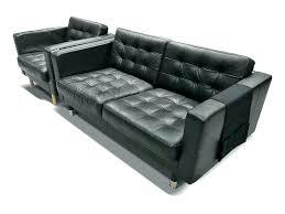 white leather sofa bed ikea 2 leather sofa armchair and 2 sofa in black tufted leather 2 seat sofa