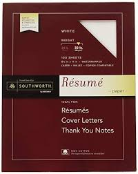 Resume Paper Amazon Best Should I Use Letter Images On Staples Magnificent Southworth Resume Paper