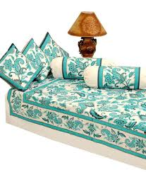 Paisley Sofa heritage blue paisley cotton diwan set anokhi gold 6 pcs buy 6604 by xevi.us