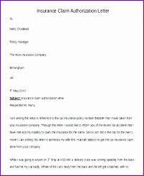 Retro Authorization Appeal Letter Sample Insurance Claim Letter For