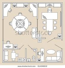 Elegant Interior And Furniture Layouts Pictures  Office Layout Furniture Clipart For Floor Plans