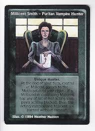 Millicent Smith, Puritan Vampire Hunter Jyhad V:TES VTES | eBay