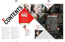 Indesign Magazine Magazine Template Indesign 40 Page Layout V7