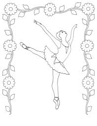 Small Picture Perfect Ballerina Coloring Pages Pefect Color 1559 Unknown