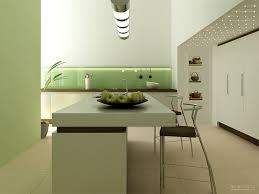 Kitchen Designs: Compact Modern Kitchen With Eat In Island - Eat-in Modern  Kitchens
