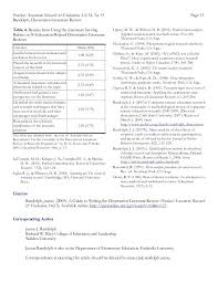 Literature Review Table Template Dissertation Literature Review Template