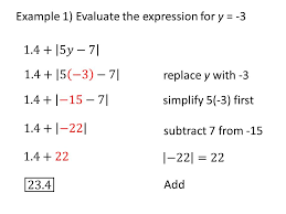 4 example 1 evaluate the expression for y 3
