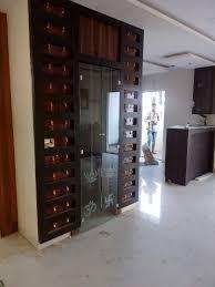 Main Door Designs For Indian Flats Puja Room Glass Door With Bells Best Suit For Flats Room