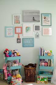 girl room wall paint ideas. toddler bedroom, big girl little bedroom. gallery wall library toys room paint ideas