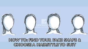 How To Find Your Hairstyle how to find your face shape and choose a hair style to suit youtube 1855 by stevesalt.us