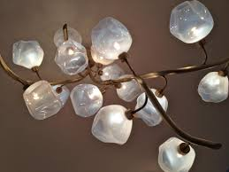 Image Sculptural Lamps By Jeff Zimmerman Daniella On Design Atomic Age Lighting