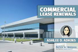 renewal clauses in commercial leases