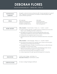 Professional Skills Resume Data Entry Clerk Resume Examples Free To Try Today Myperfectresume