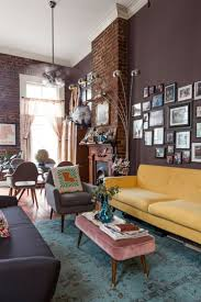 Eclectic Apartment Featuring A Diverse Color Palette And A Casual Interior